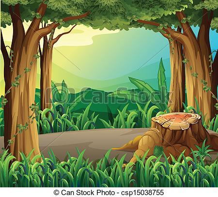 Forest Graphics Clipart.