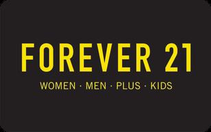 Forever 21 Gift Card.