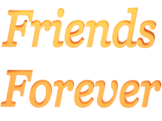 Friends forever pics clipart.
