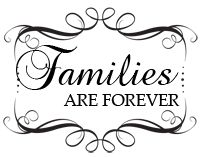 Families are forever clipart.