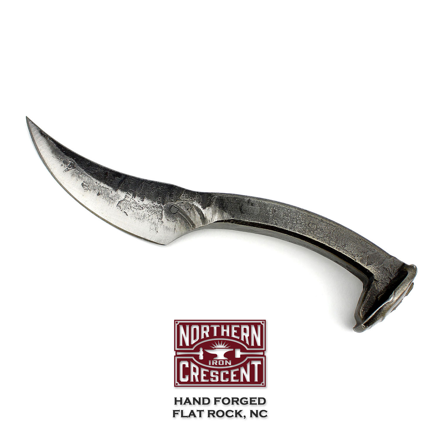 Hand forged knife.
