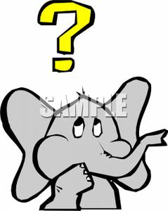 Forgetful Clipart.