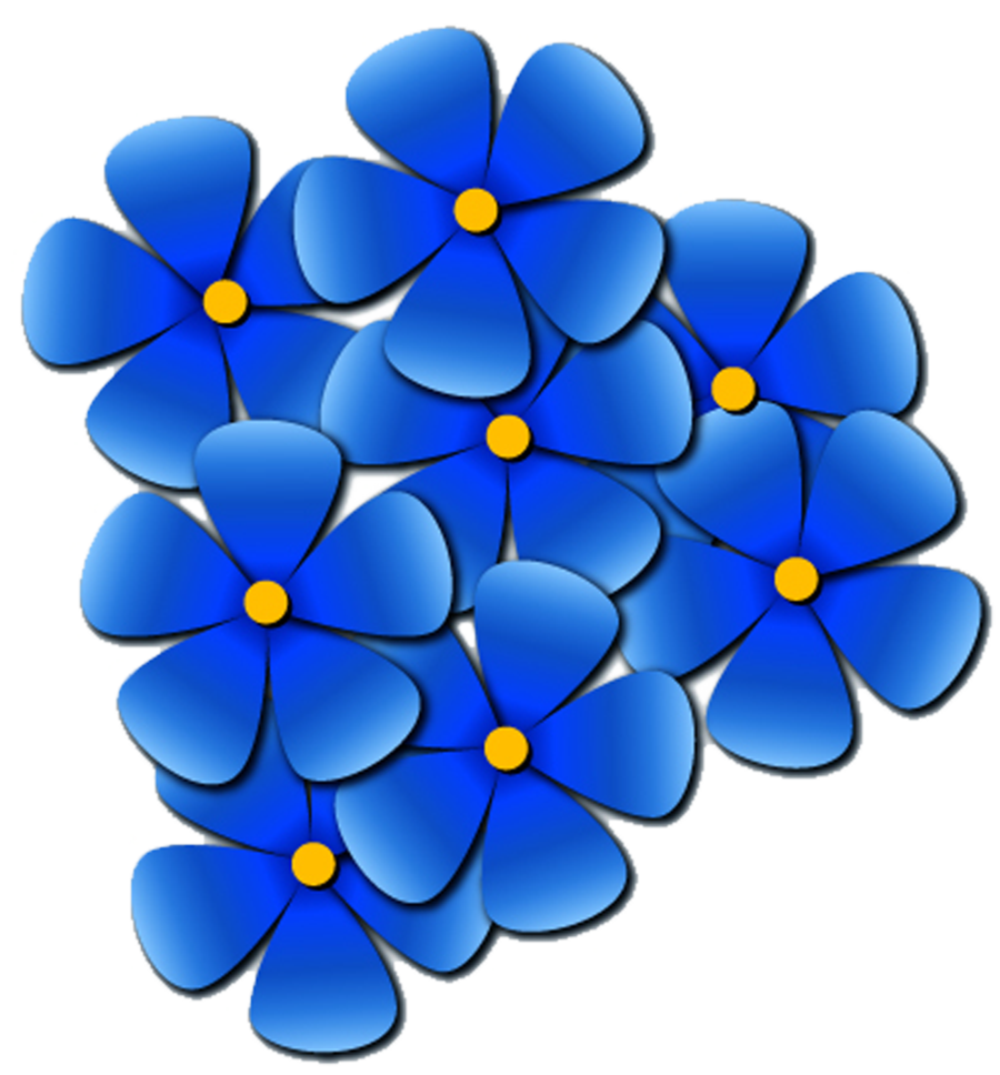 Forget me not clip art.