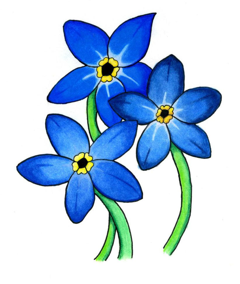 Forget Me Not Cliparts.