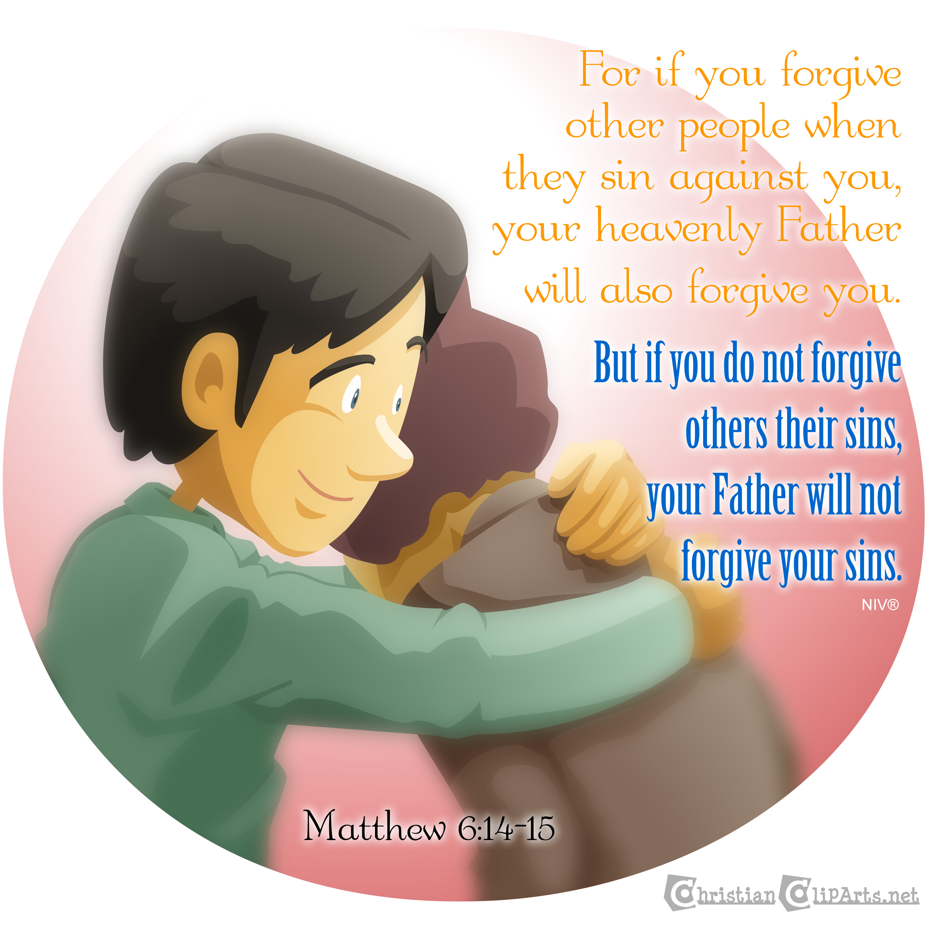 Christian clipArts.net _ Forgive others.