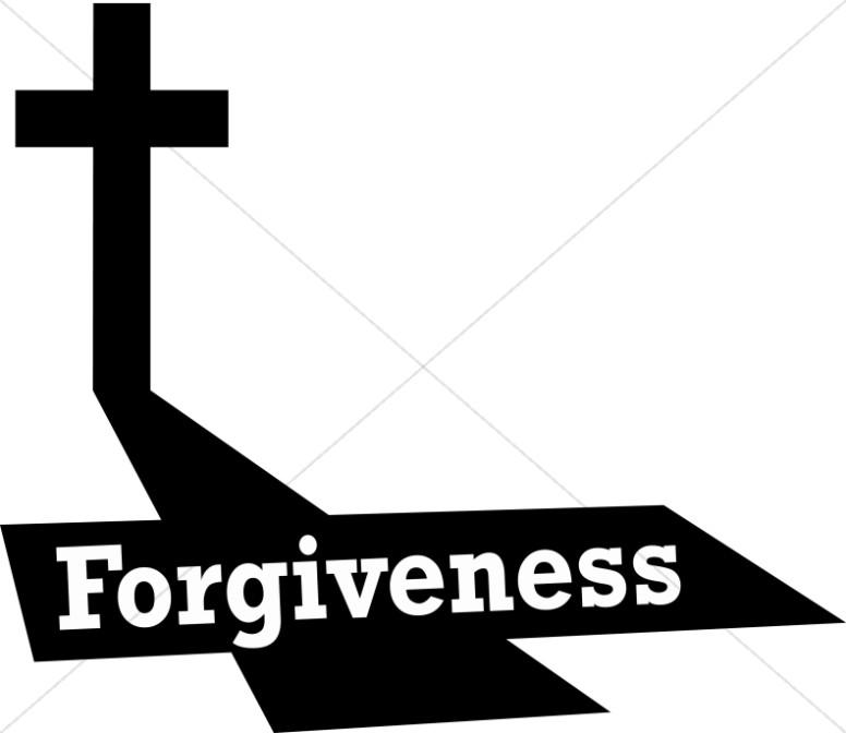 Jesus forgiveness clipart.