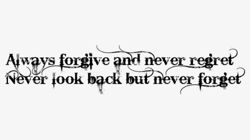 Forgive Clipart Black And White, HD Png Download.