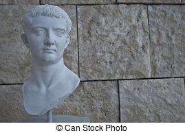 Stock Photos of Augustus, roman emperor, Rome.