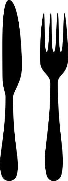 Fork knife clip art clipart images gallery for free download.