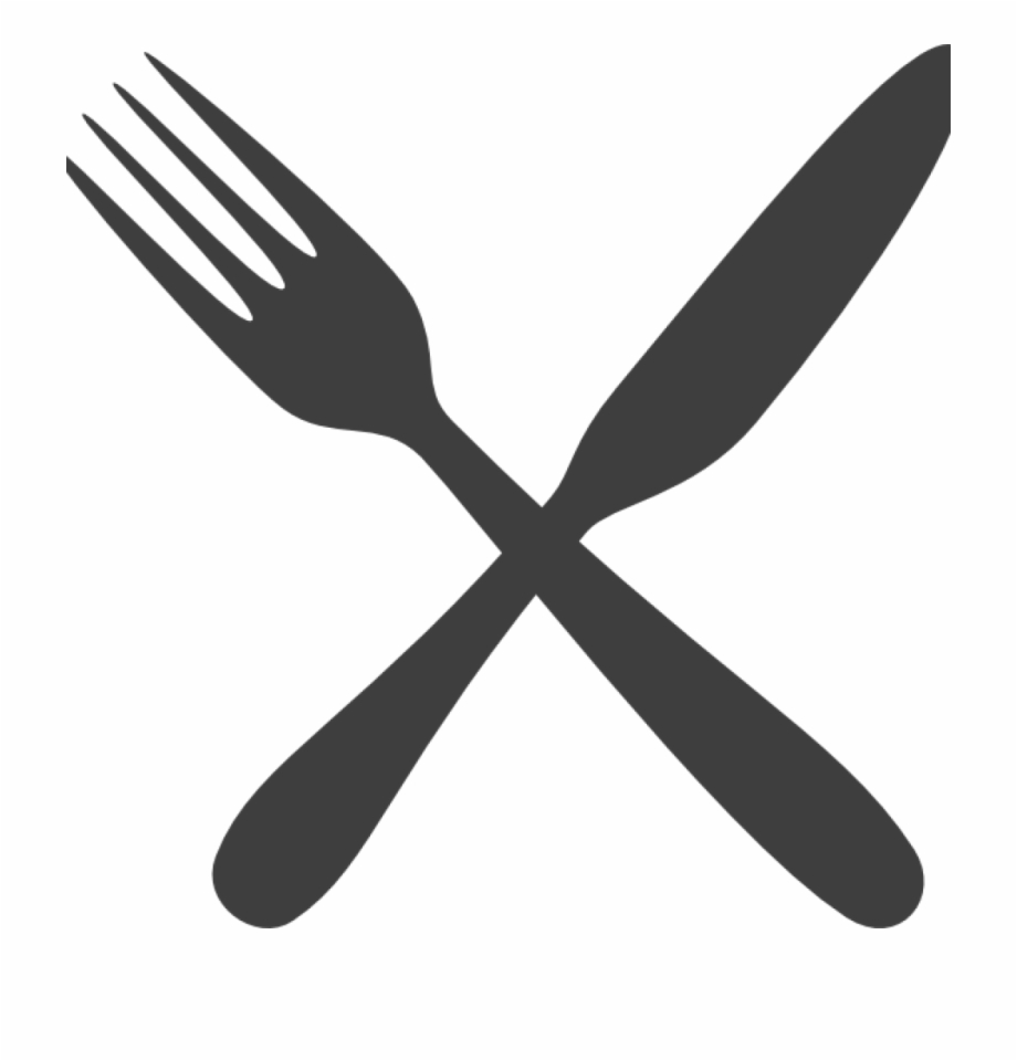 Fork And Knife Clipart Rainbow Clipart Hatenylo.
