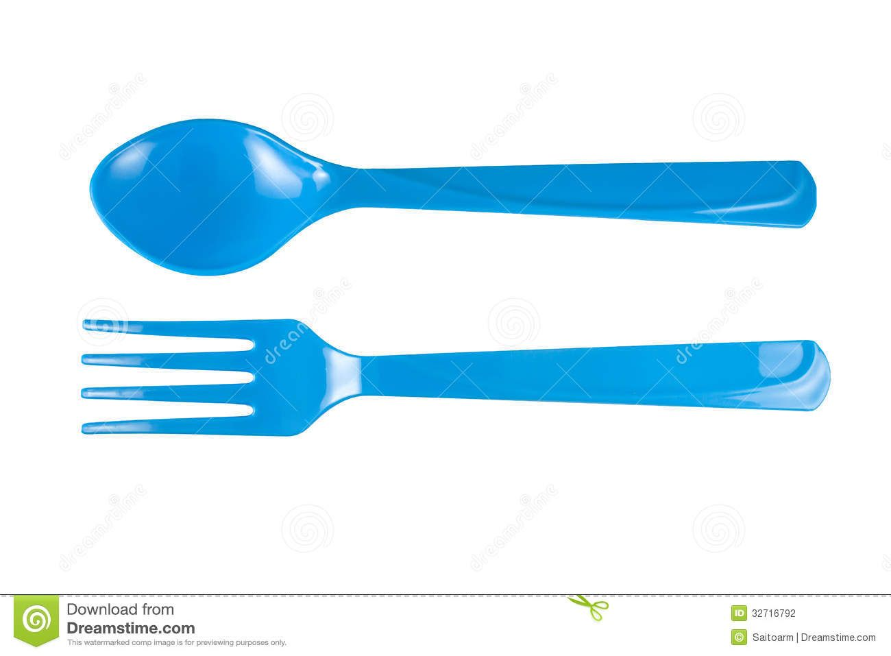 Crossed Fork And Spoon Clipart.