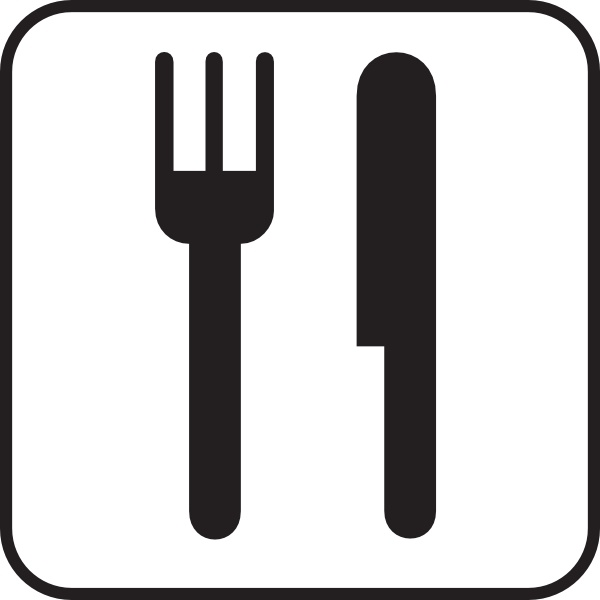 Fork And Spoon clip art Free vector in Open office drawing.