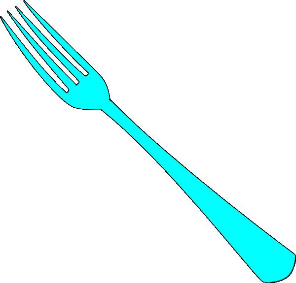 Clip Art Fork Knife Plate Clipart.