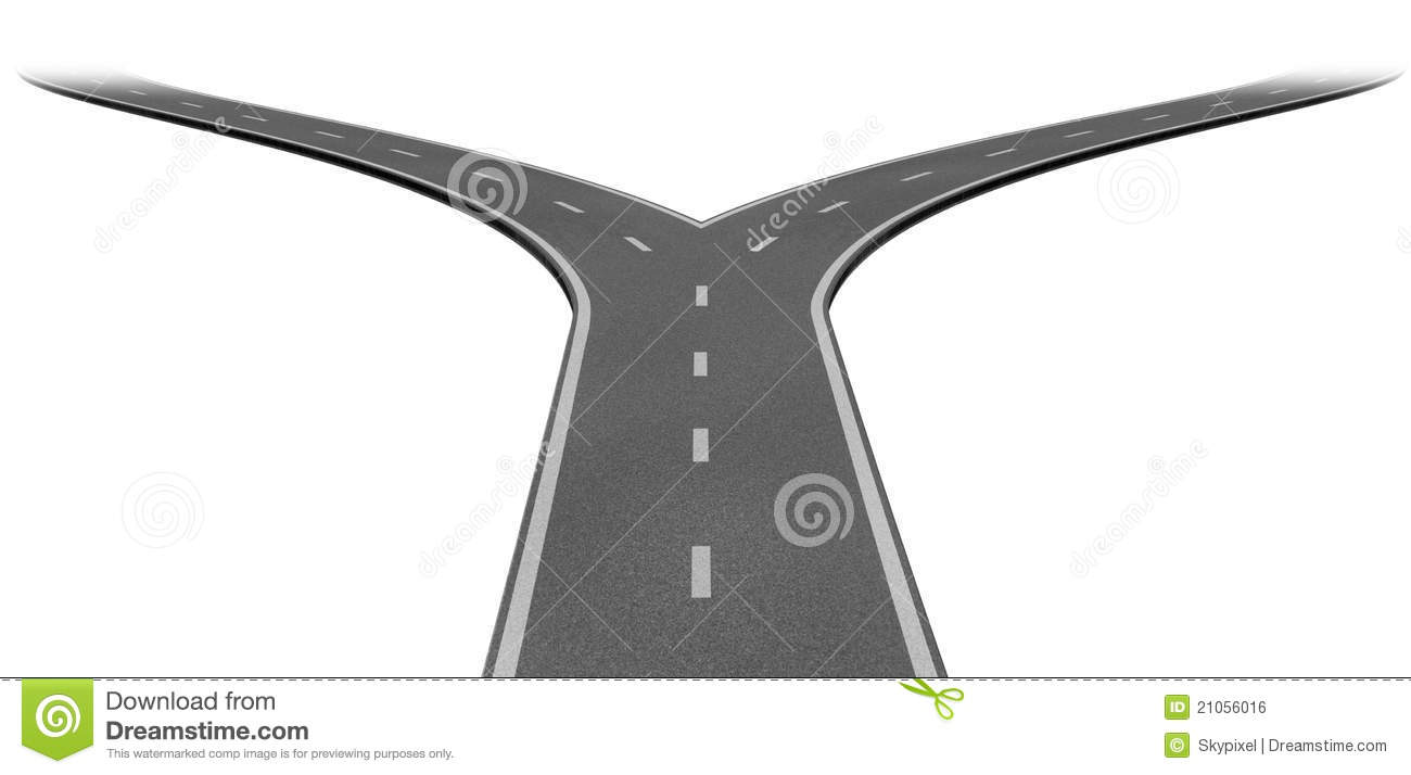 Fork In The Road Clipart Fork In The Road Or Highway #0LdfTt.