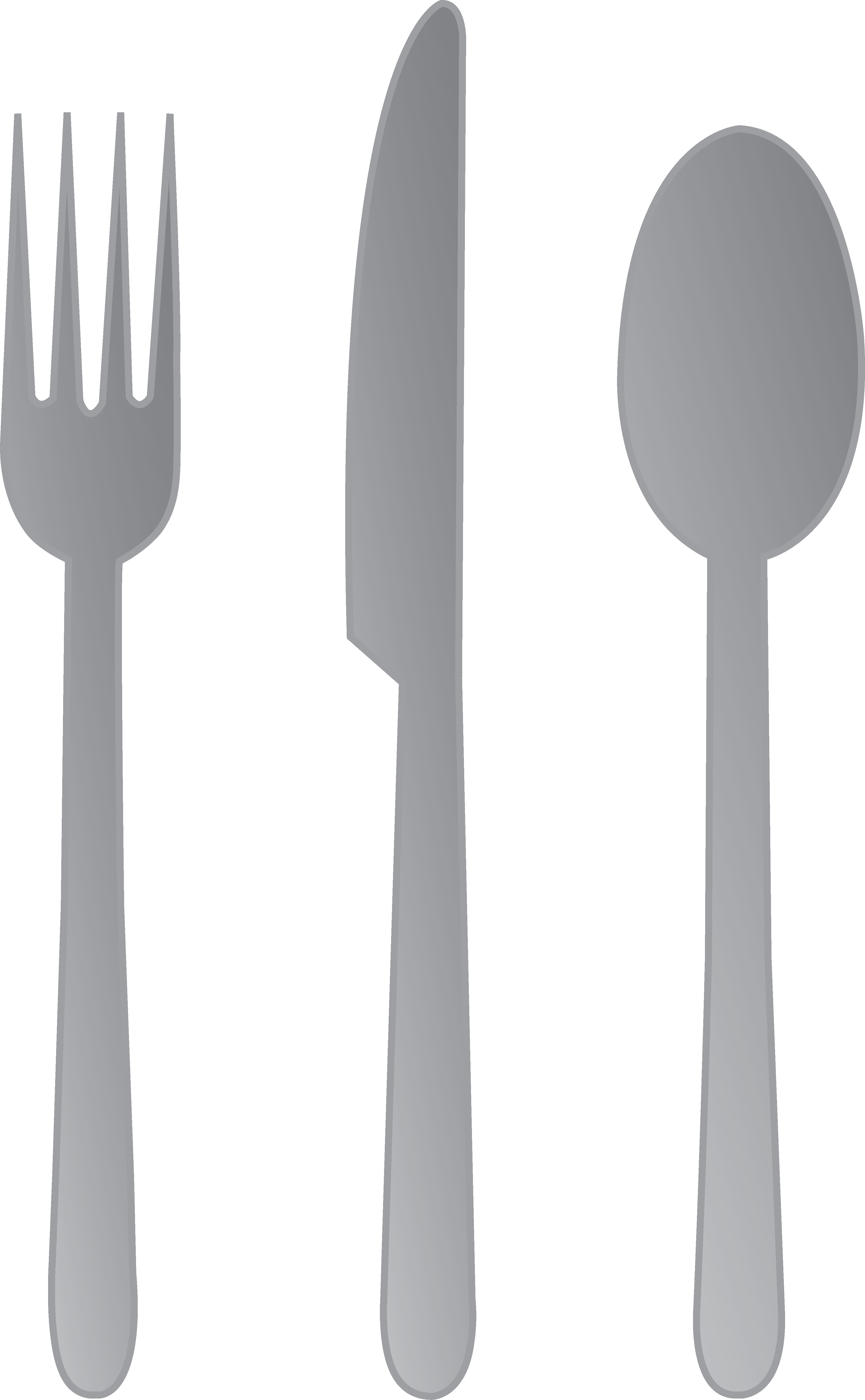 Fork Knife and Spoon.