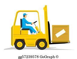 Forklift Clip Art.