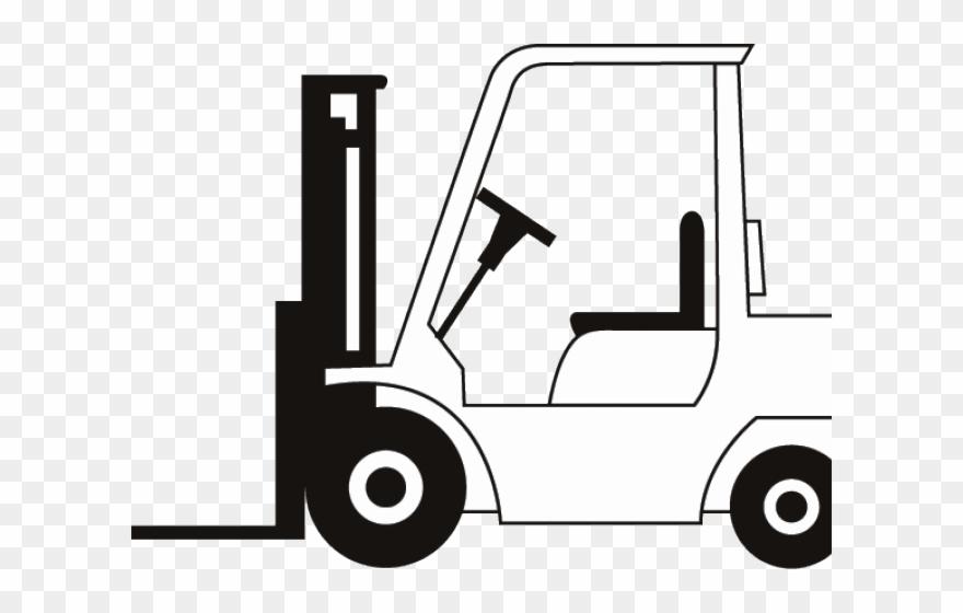 Drawn Truck Fork Lift.