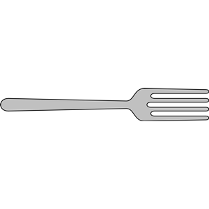 Crossed spoon and fork clipart free clip art.
