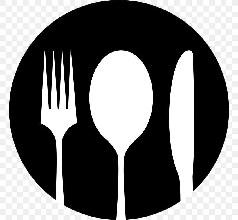 Knife Fork Spoon Clip Art, PNG, 758x758px, Knife, Black.