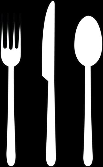 Fork spoon clip art.