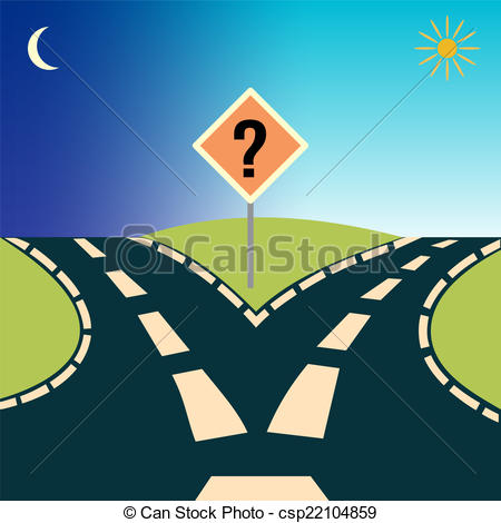 Two Way Road Clipart Clipground