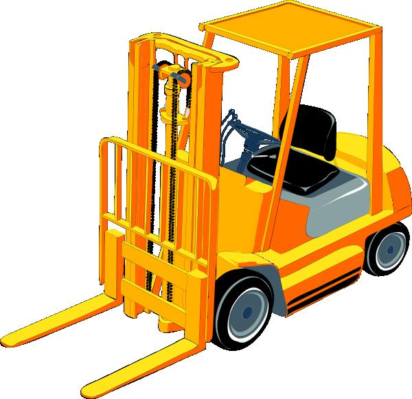 Forklift Clipart.