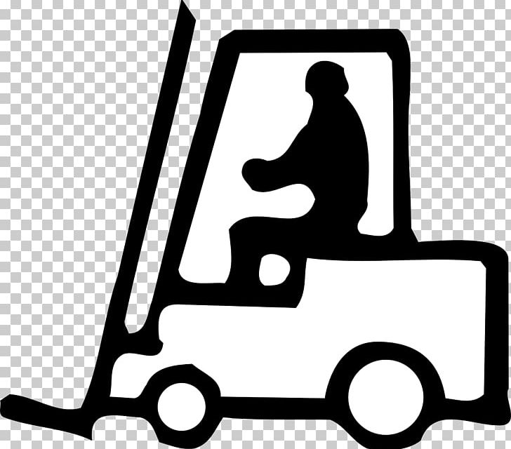 Forklift Warehouse PNG, Clipart, Area, Black And White.