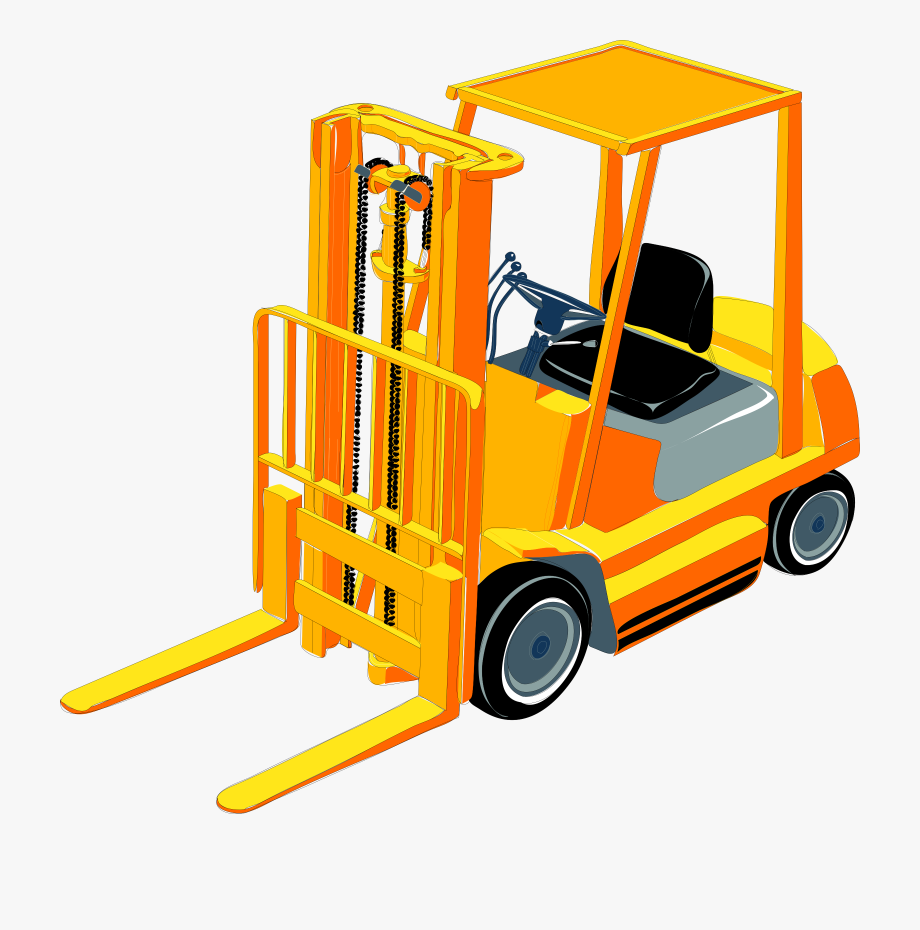 Forklift Clipart , Transparent Cartoon, Free Cliparts.