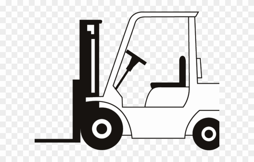Drawn Truck Fork Lift.