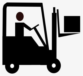 Free Forklift Clip Art with No Background.