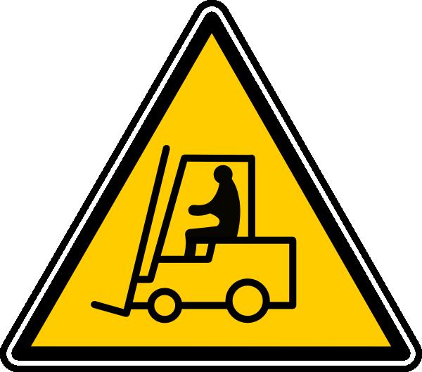 Fork Truck Clipart.