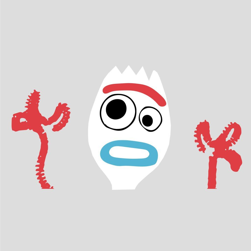 Forky Spork Toy Story 4, SVG, JPEG, High Definition #Forky.