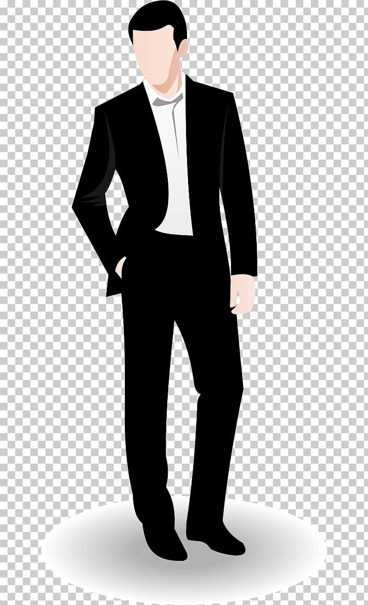 Businessperson Euclidean , Real Man s, illustration of man.