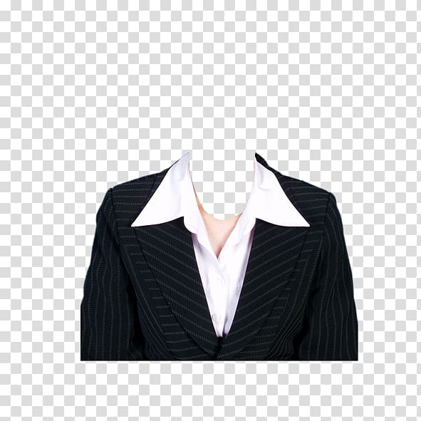 Suit Formal wear Template Clothing, business man, black and.