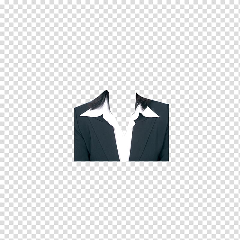 Black suit jacket, Suit Template Formal wear Clothing, Young.