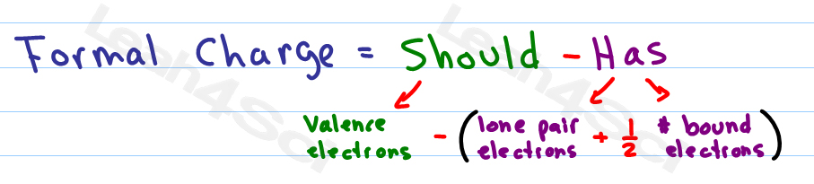 Formal Charge Formula Calculation and Shortcut for Organic.