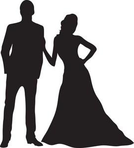Prom couple clipart 1 » Clipart Portal.