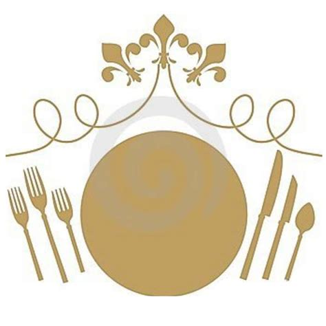 Formal Table Setting Clipart Fine Dining Clipart, Formal Dinner Clip.