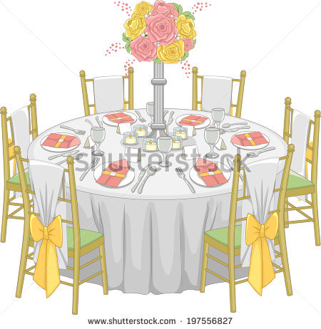 formal dinner clipart   clipground
