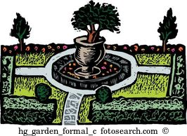 Formal garden Clipart Royalty Free. 474 formal garden clip art.