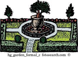 Formal garden Clipart Royalty Free. 474 formal garden clip art.