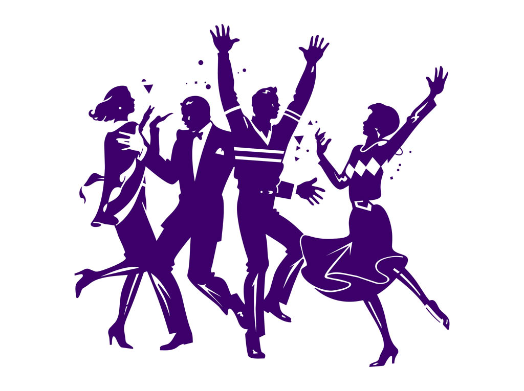 Formal dance clipart.