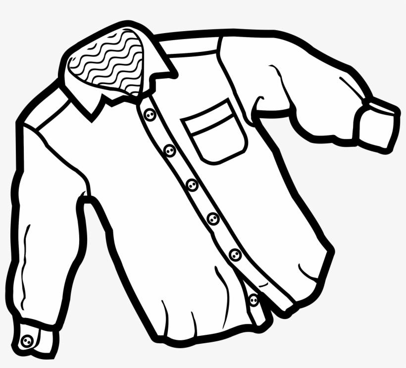 Dress Shirt Clipart Button Up Shirt.