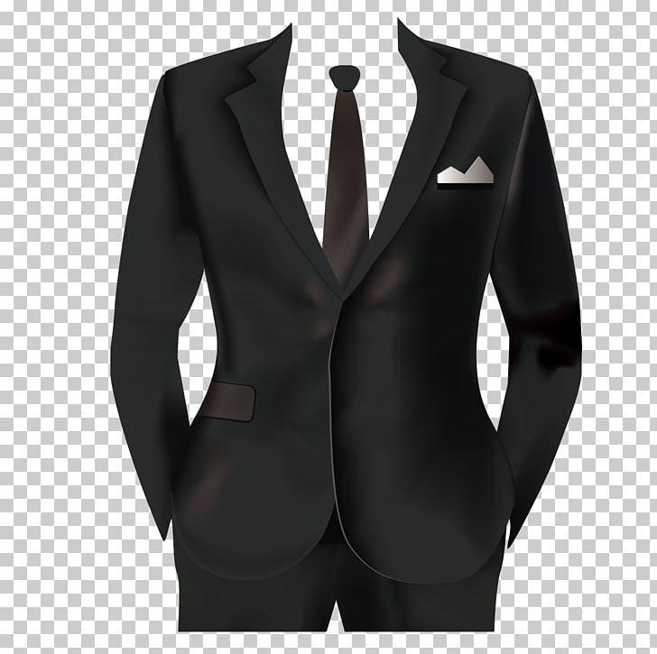 Tuxedo Suit Formal Wear PNG, Clipart, Black, Blazer, Cartoon.