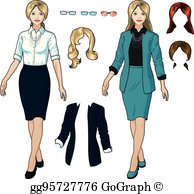 Formal Wear Clip Art.