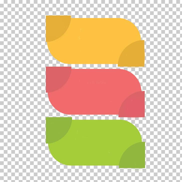 Varios colores surtidos, ppt tricolor en forma de hoja.