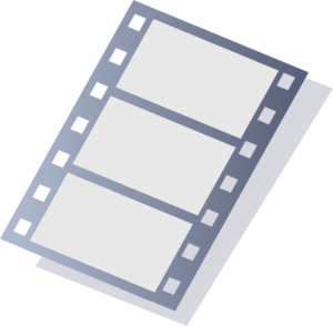 Movie Stripe Larger Format Clip Art at Clker.com.