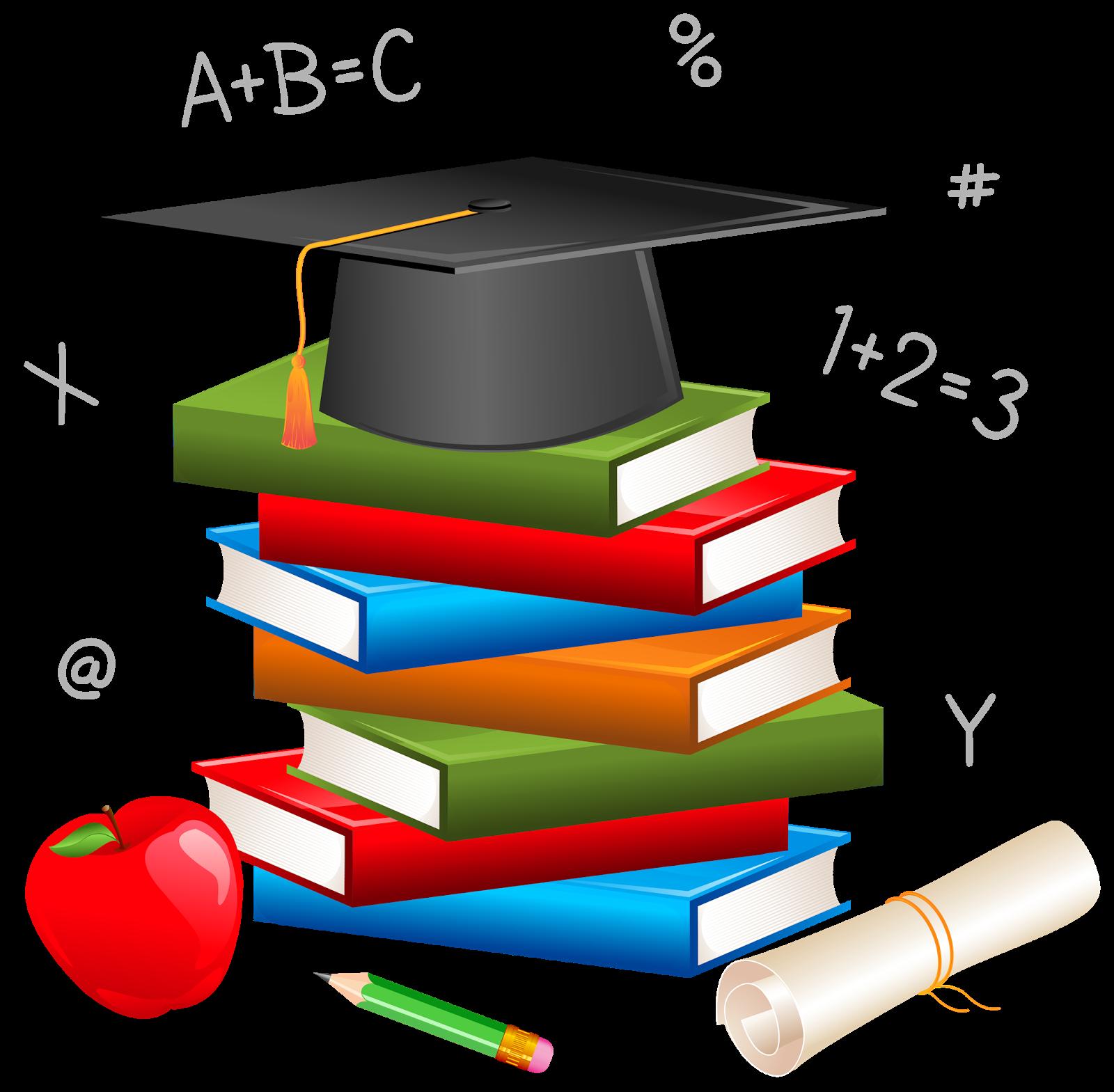 Cliparts Tema Educação.