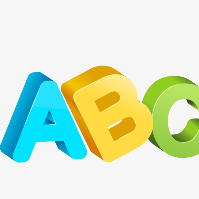 Abc, English Alphabet, English PNG And P #64410.