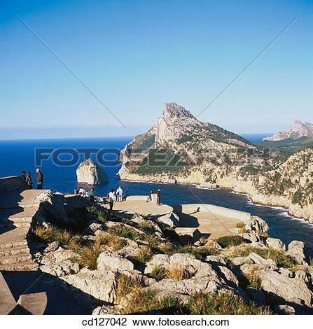 Stock Photo of Cape of Formentor. Majorca. Balearic Islands. Spain.